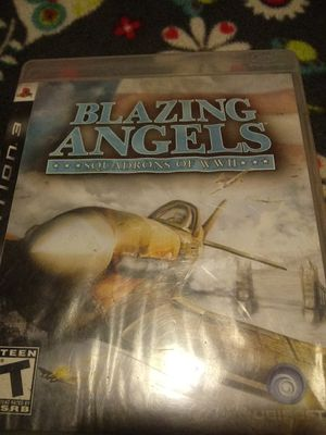 Blazing angels ps3 game for Sale in Nipomo, CA