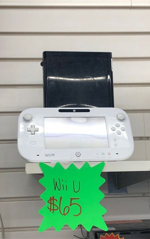 Nintendo Wii U for $65 for Sale in Houston, TX