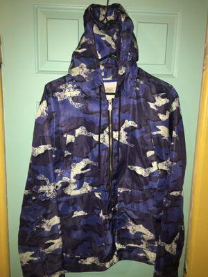 Blue Camo Rain jacket for Sale in Stockton, CA