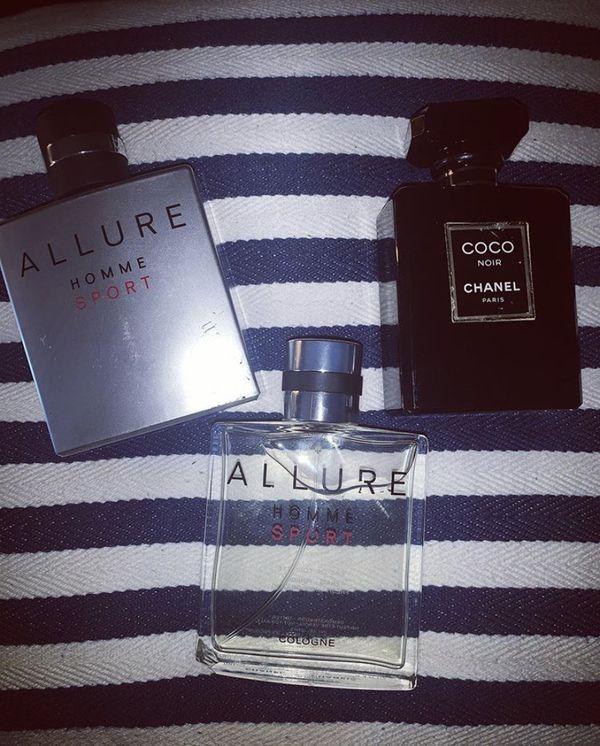 Chanel perfume and colognes coco allure
