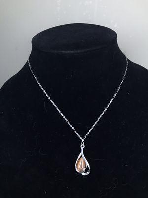 Brown Moonstone Heart Necklace for Sale in Glen Ellyn, IL