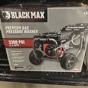 Black Mac 3300psi Power Washer for Sale in Keller, TX