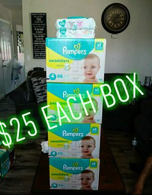 Pampers Swaddlers Size 4!!READ THE ADDDDD💚👶💛 for Sale in Compton, CA