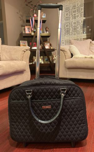 Vera Bradley Iconic Rolling Work Bag for Sale in Elk Grove Village, IL