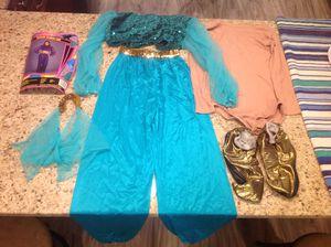 Halloween costume Genie or Jasmine Harem girl TEEN for Sale in Irwin, PA