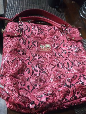 Coach purse for Sale in Mitchell, IL