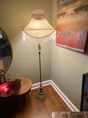 Vintage lamp and shade$35 for Sale in Greenville, SC