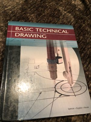 Basic technical drawing book for Sale in Downey, CA