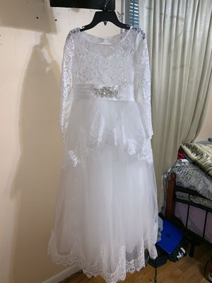Brand new size 12 petite first communion/flower girl dress for Sale in Glenarden, MD