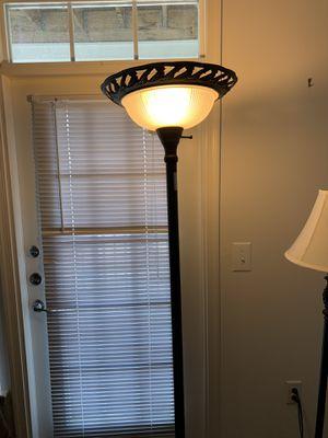 Steel 7 foot lamp for Sale in Manassas, VA