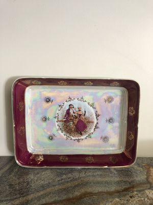 Antique China Madonna Serving Tray for Sale in Los Angeles, CA