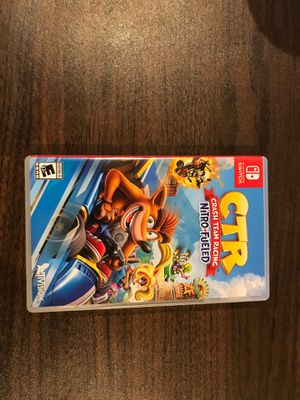 Crash team racing switch for Sale in Redwood City, CA