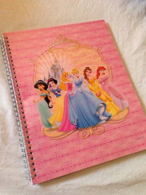 Disney Princess Wide Rule Spiral Notebook for Sale in Rockville, MD