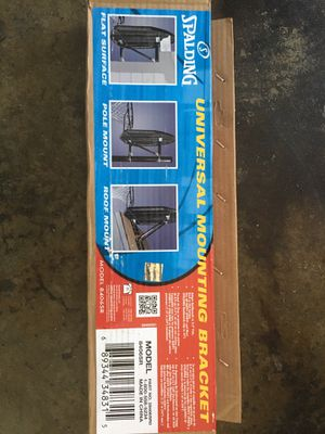 Mounting bracket -basketball hoop for Sale in New Port Richey, FL