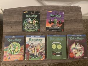 Rick and Morty complete Season 1-4 Blu-ray (Brand New) for Sale in La Vergne, TN