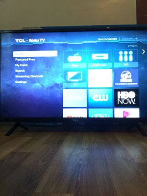 """32"""" tcl roku tv for Sale in Evansville, IN"""
