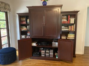 Entertainment Center w/ Bookshelves for Sale in Sierra Madre, CA