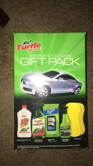 Turtle wax car cleaning kit for Sale in Gainesville, VA