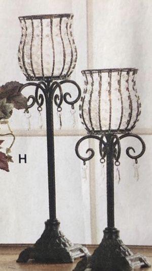 """Home 🏠 interior """" par de candeleros """" 👀 segundas fotos para las ideas for Sale in Los Angeles, CA"""