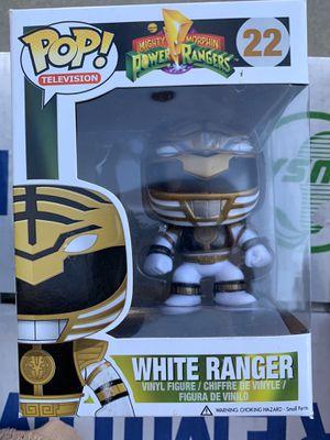 Funko POP! White Ranger #22 for Sale in Fresno, CA