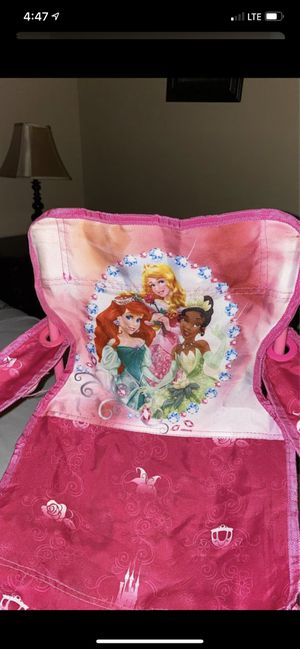 Princess folding chair for Sale in Long Beach, CA