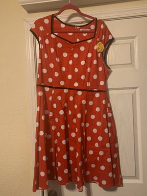 Minnie Mouse sweetheart dress for Sale in Brea, CA