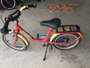 Toddler bike puky for Sale in Olympia, WA