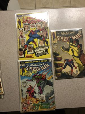 Old Amazing Spider-Man Comics (Make Offer) for Sale in Winter Park, FL