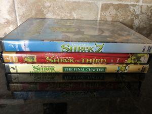 Shrek dvds for Sale in Palm City, FL
