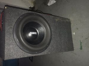 """Sun audio 15"""" speaker with box for Sale in Garfield Heights, OH"""