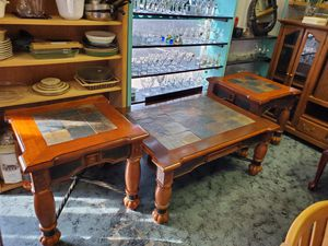 Ashley Furniture Coffee Table & 2 End Tables for Sale in Winter Garden, FL