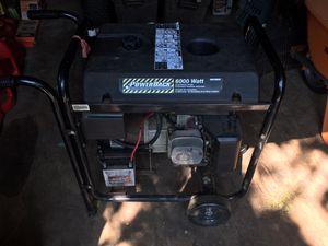 6000 watt generator for Sale in Madison, CT