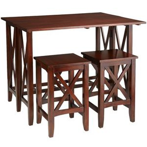 Pier1 Mahogany Dining and Breakfast Table Set (orig. $499) for Sale in Seattle, WA