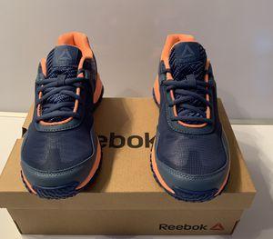 Kids Reebok Boys Ridgerider Low Top Lace up Walking Shoes Blue Size 5.5 for Sale in Los Angeles, CA