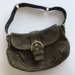 Coach Brown Suede Hobo Bag for Sale in Westminster, CO