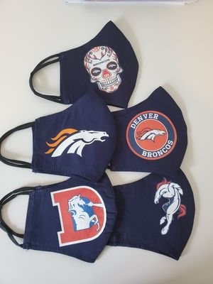 BRONCO MASKS for Sale in Lakewood, CO