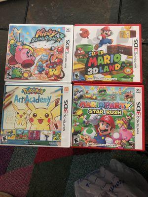 Nintendo 3DS games for Sale in San Antonio, TX