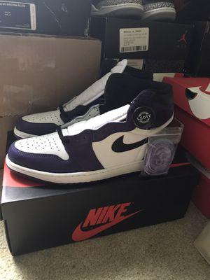 Jordan 1 Court Purple for Sale in Renton, WA