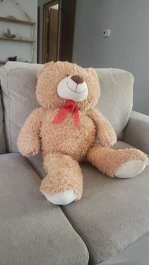 Sweet stuffed bear, great condition for Sale in Oregon City, OR