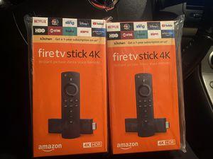 2 firesticks for Sale in Houston, TX