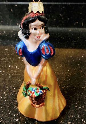 Large Vintage Disney Snow white Glass Ornament for Sale in Chandler, AZ
