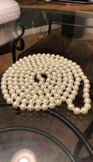 "Vintage 30"" Saltwater Pearl Necklace for Sale in Morgantown, WV"