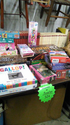 Games and puzzles for Sale in Lexington, NC