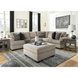 Sectional Sofa with Ottoman, Stone #56103 for Sale in Pico Rivera, CA