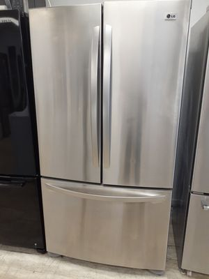 36x68 LG French Door Stainless Steel Refrigerator for Sale in West Palm Beach, FL
