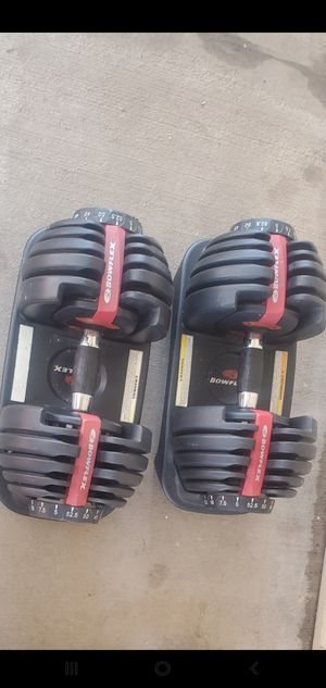 Bow flex adjustable weight set for Sale in Riverbank, CA