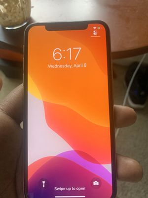Iphone X 64gb for Sale in Brownstown Charter Township, MI