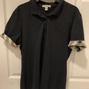 Black Burberry Brit Womens Polo Shirt for Sale in Graham, NC