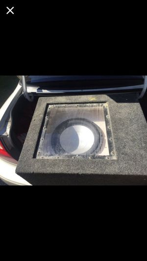 Infinity m3d 12 in ported box for Sale in Tacoma, WA