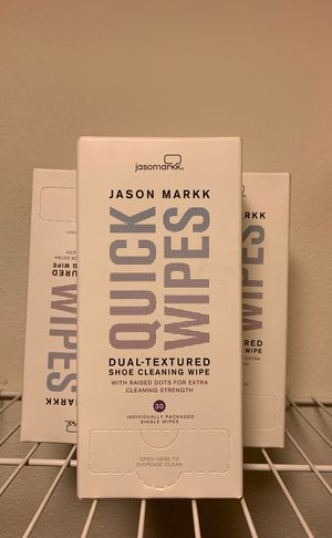 NEW Jason Markk Sneaker Cleaning Quick Wipes for Sale in Pasadena, CA